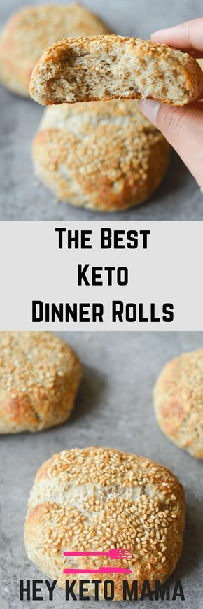 These are the best keto dinner rolls to help replace bread in your low carb lifestyle. This recipe is easy, filling, and8 delicious! | heyketomama.com