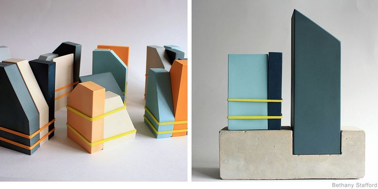 Brutalist Inspired Ceramics by Bethany Stafford