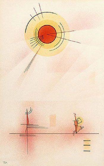 "Wassily Kandinsky - ""Shine"", 1929                                                                                                                                                     More"