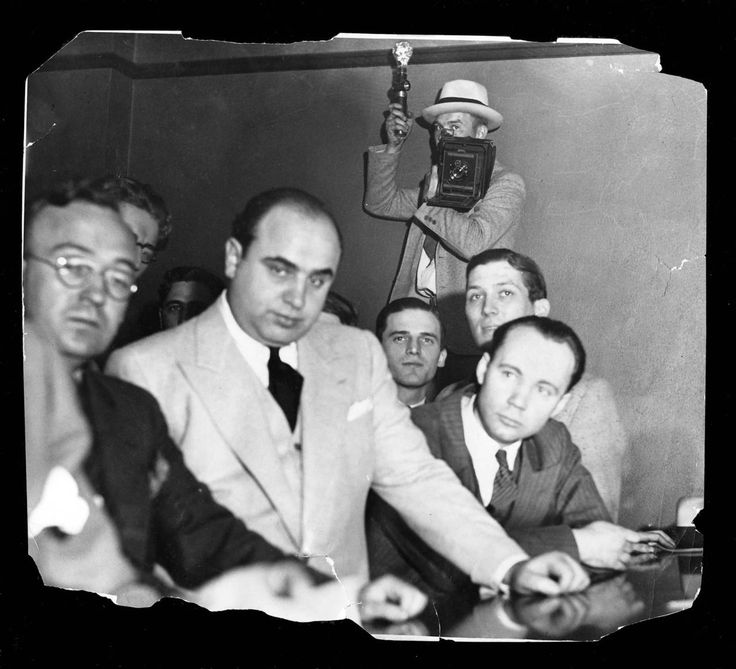 During the prohibition era, Al Capone controlled Chicago's underworld with dozens of murders attributed to him and his gang, including the St. Valentine's Day massacre in 1929.