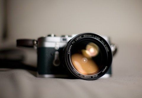 Forget the camera, I want the f0.95 Canon lens! Those are so hard to find and when you do they're ridiculously expensive for a manual lens.