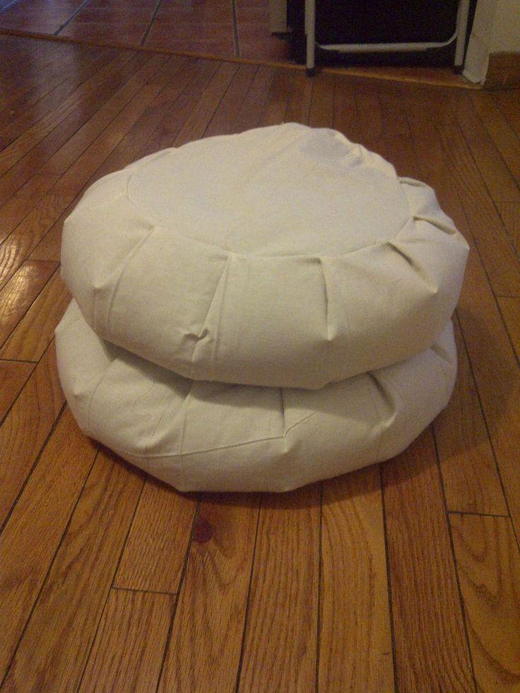 Make your own zafu/meditation pillow