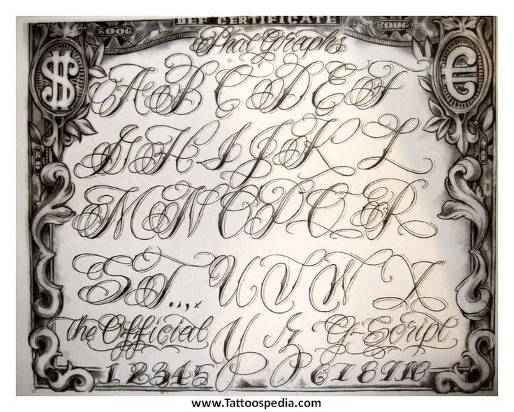 latin style font - photo #22