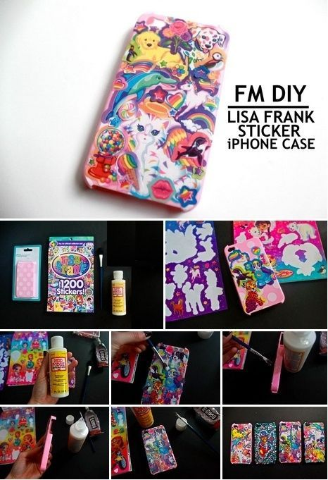 Lisa Frank iPhone Case. I LOVED Lisa Frank when I was little, can't wait to try this!!