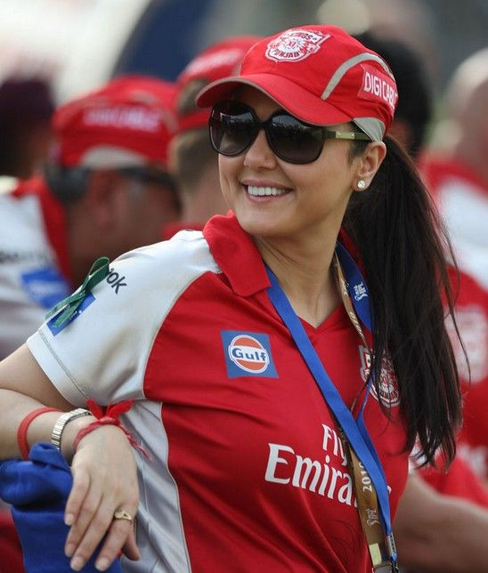 Hot Owner of Kings XI Pinjab...