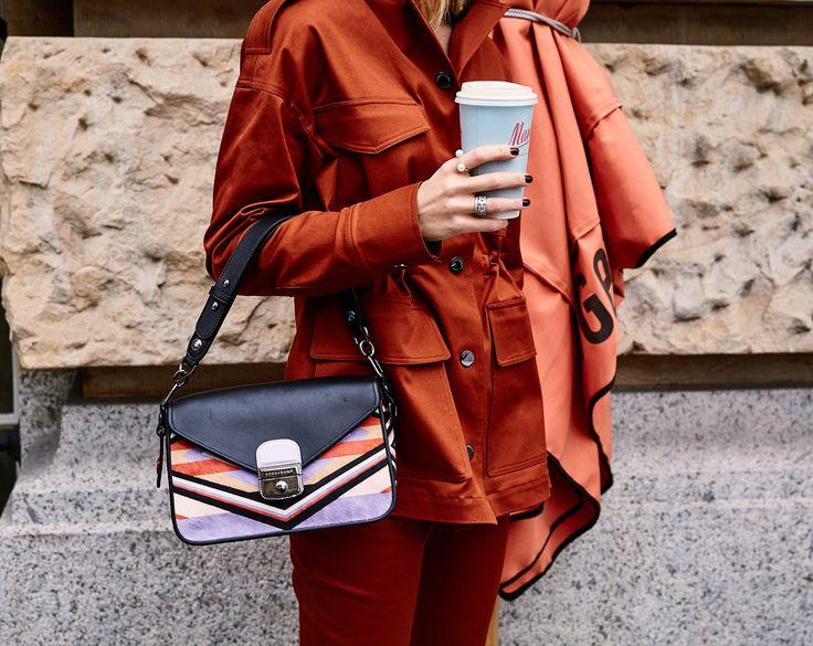 New «Mademoiselle» bag in autumn shades from @longchamp 🍁 #allshadesofautumn / Anzeige *
