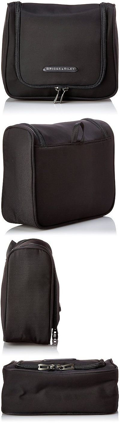Other Travel Accessories 93839: Briggs And Riley Hanging Toiletry Kit, Black, One Size -> BUY IT NOW ONLY: $56.67 on eBay!
