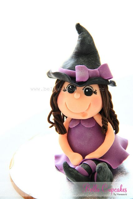 Little Witch    Made for a sweet little girl who is having a halloween themed birthday party.