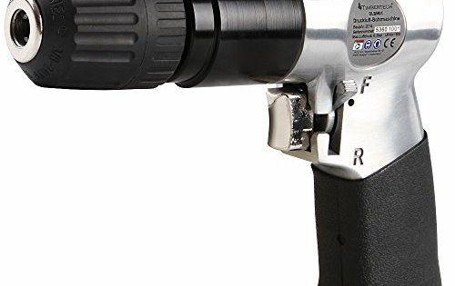 Timbertech – Perceuse pneumatique – avec mandrin à serrage rapide – 19/15/4,5 cm (L/H/l): DONNÉES TECHNIQUES : L/H/l env. : 19/15/4,5 cm *…