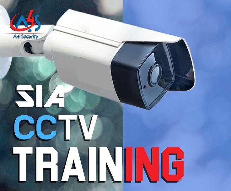 Sia cctv operator courses training courses security