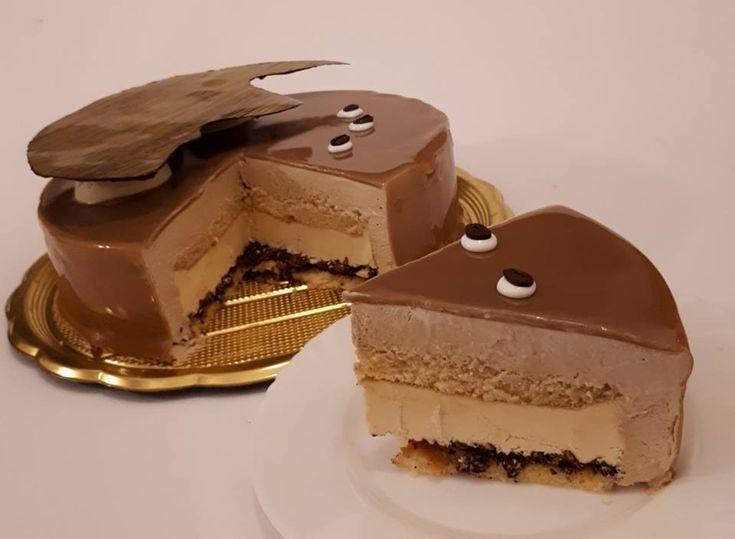 1889 best semifreddi bavaresi e torte cremose images on - Glassa a specchio su pan di spagna ...