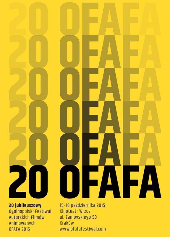 OFAFA 2015 - Ogólnopolski Festiwal Autorskich Filmów Animowanych