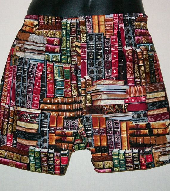 books cotton boxers