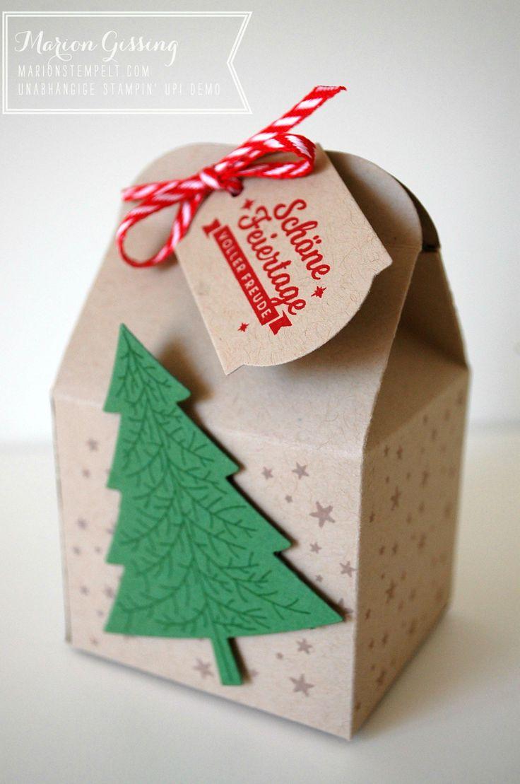 Stampin Up; Leckereien-Box, Schöne Feiertage, Verpackung, Weihnachten