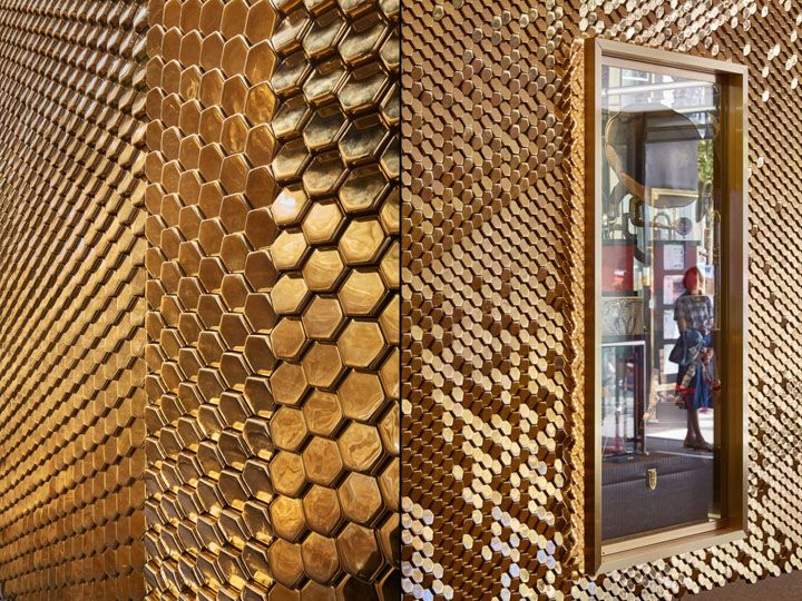 Ceramic Installation by Giles Miller Studio at Le Lido Cabaret Club, Paris – France » Retail Design Blog