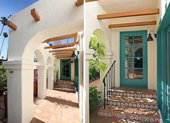 Best 25 spanish bungalow ideas on pinterest spanish for Spanish revival exterior paint colors