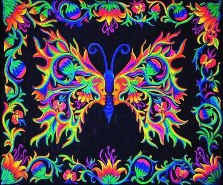 Cosmic Fantasy Fractal Blacklight: 122 Best Images About Neon/Blacklight On Pinterest
