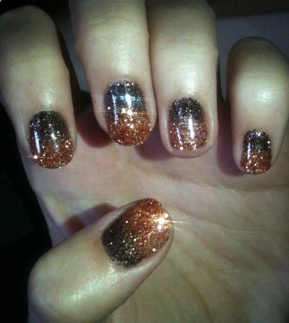 showmemakeup: My Autumnal Shellac Rockstar Nails! .