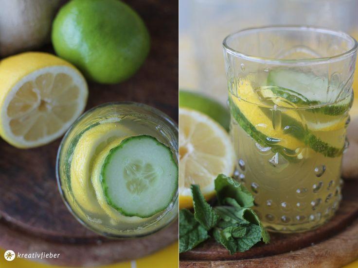 Gin mit Gurke, Zitrone und Ingwersirup - Cocktail Trends