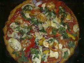 Slimming World Recipes: SYN FREE 'SMASH' PIZZA
