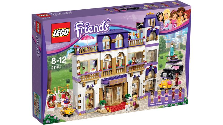 41101 Heartlakes Grand Hotell - Produkter - Friends LEGO.com