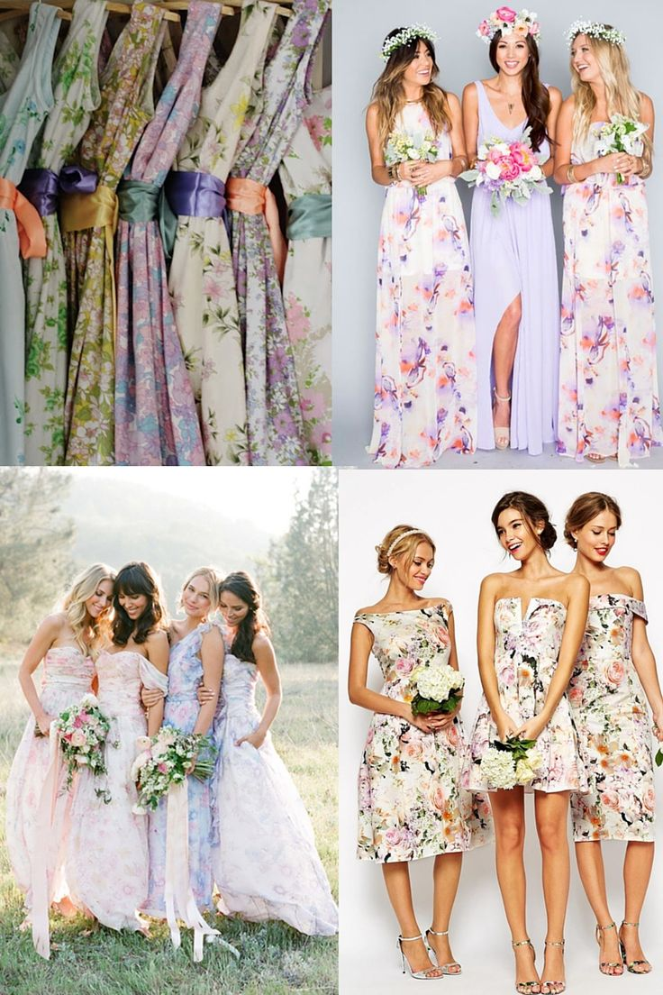 11 best bridesmaid inspiration images on pinterest bridesmaids long gone are the days when bridesmaid dresses needed to be formal and uniform 2016 has seen a trend for mismatching bridesmaid styles that reflect the ombrellifo Image collections