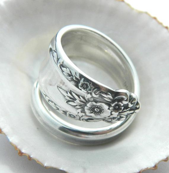 International Sterling Spoon Ring