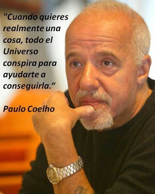 Paulo Coelho - excelente escritor, filósofo.