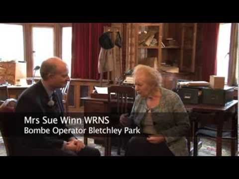 An insight into the ongoing work at #BletchleyPark inc. an interview with Sue Winn, veteran of Bletchley Park, who praises the restoration work #WW2