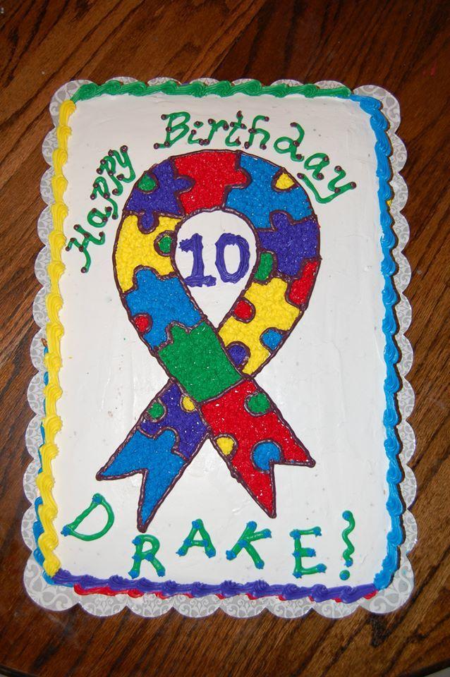 Autism Cake Cakes I Ve Decorated Cupcake Cakes Cake