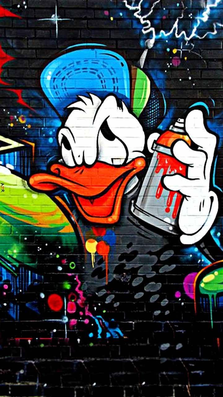 Download wallpaper anime graffiti