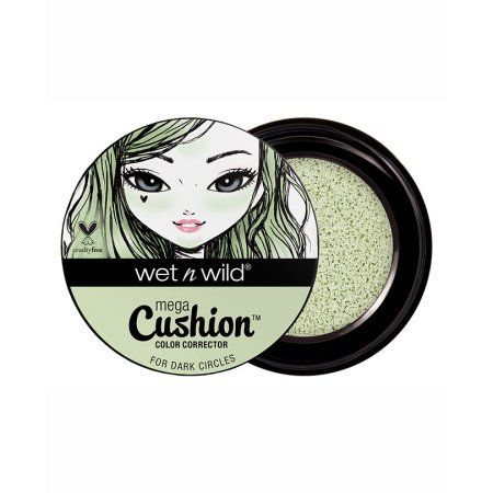 Wet n Wild Photo Focus Cushion Color Corrector, Green