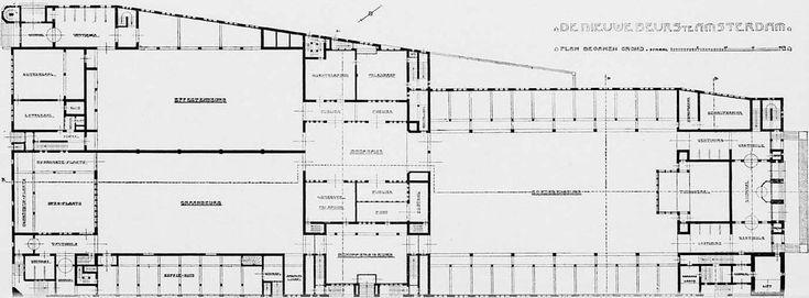 H.P._Berlage_Beurs_van_Berlage_plan_1.jpg (1375×507)
