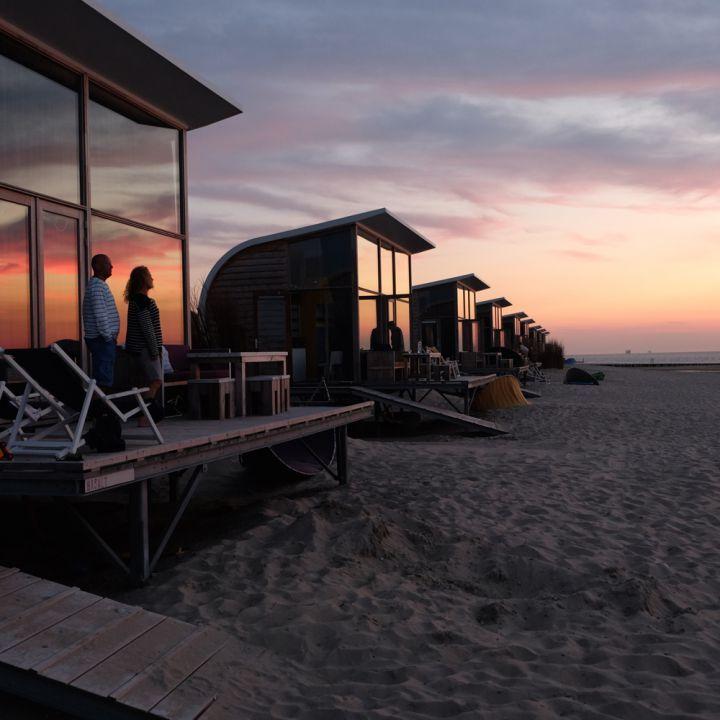 Strandslaaphuisjes Zeeland