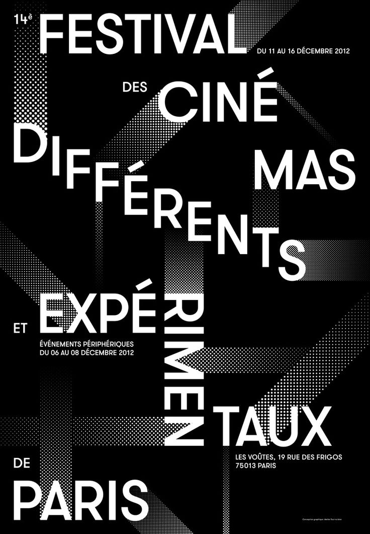 Paris Festival for Different and Experimental Cinema 2012 #simple