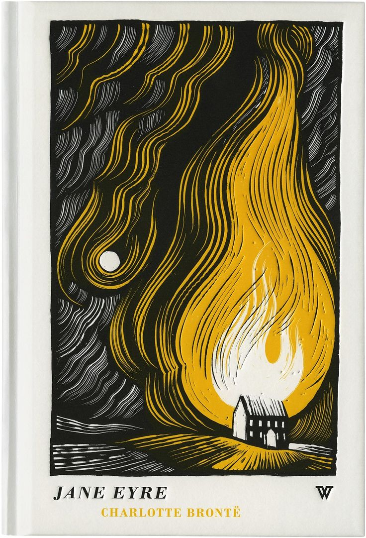 Joe McLaren - Jane Eyre:  One of my favourite books of all time getting the JM treatment. Tres Belle!