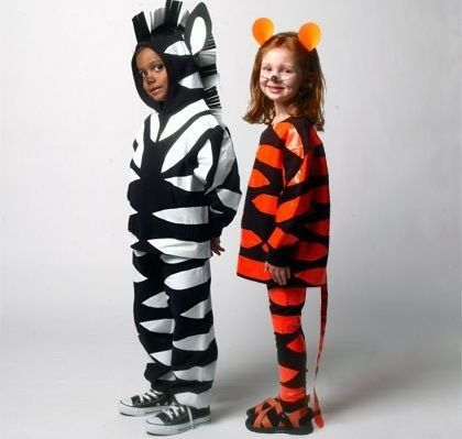 disfraces hechos en casa para nios halloween part
