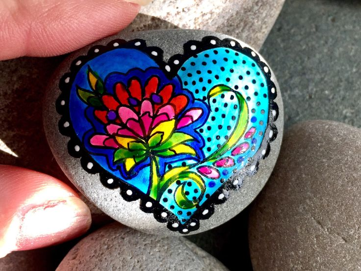 A personal favorite from my Etsy shop https://www.etsy.com/listing/491887119/love-grows-painted-rocks-painted-stones