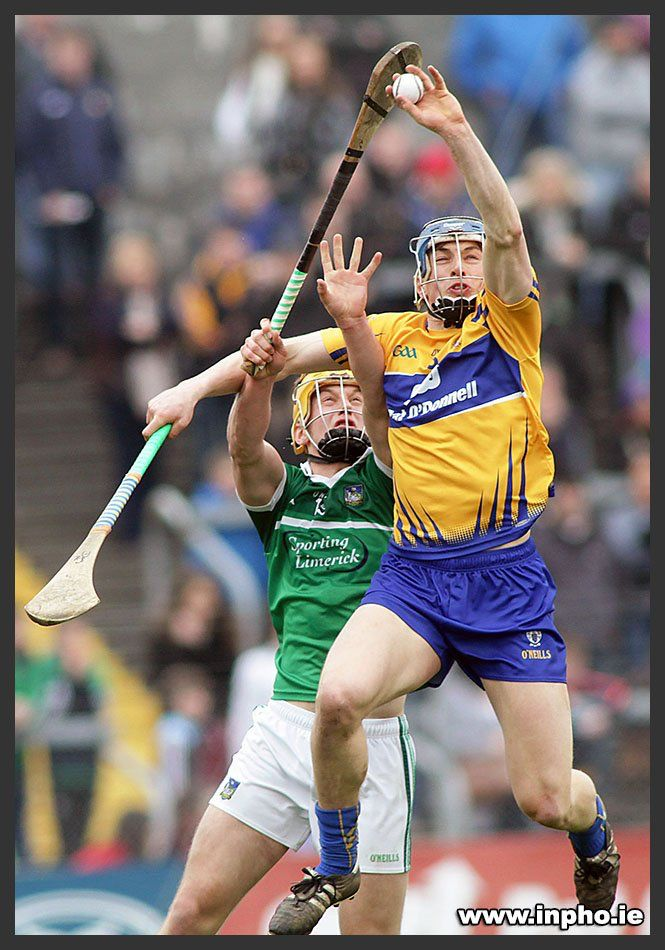 Great catching; used his stick to get up and in from of the limerick man