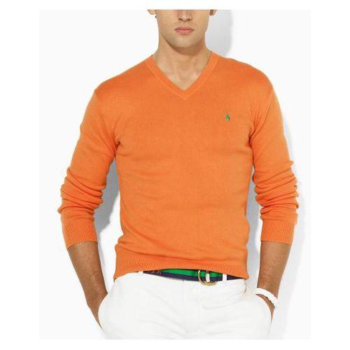 Pull Hommes à Orange