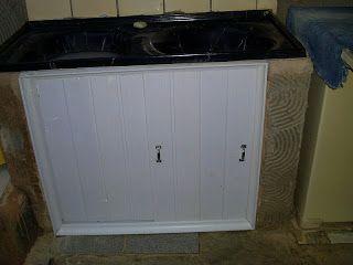 Portas de PVC para tanque