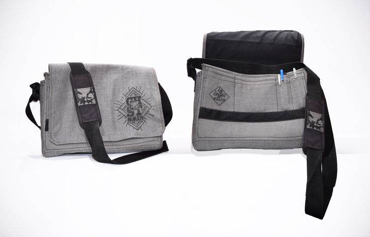 Ghost Custom Clothing Messenger Bag made from scratch...Be limited edition