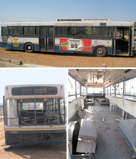 This city bus seemed beyond saving when two Israeli women initially found it, but they saw the bones of their own highly customized DIY RV. The women tore out the interior and gave it a fresh, modern new look with pops of bright color.