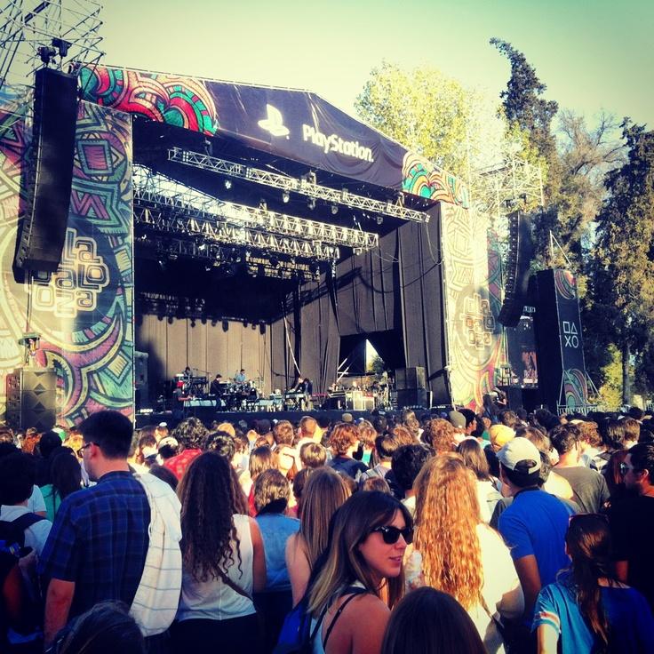 Passion Pit - Lollapalooza Chile, Sábado 6 de Abril de 2013 Parque O'higgins.