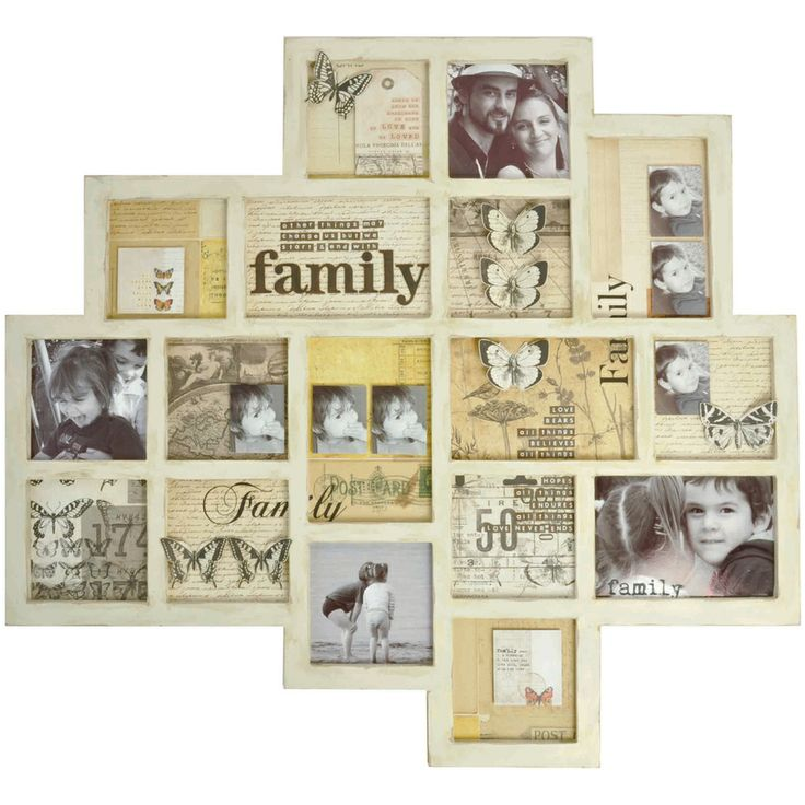 """Beyond The Page MDF Abstract Memory Frame-25.5""""X23.5""""X.5"""" 
