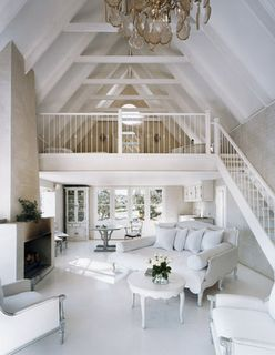 stunning Hamptons decor. Great small guest house