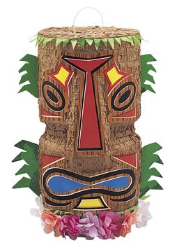 Pinata Tiki tropics  et un choix immense de décorations pas chères pour anniversaires, fêtes et occasions spéciales. De la vaisselle jetable à la déco de table, vous trouverez tout pour la fête sur VegaooParty