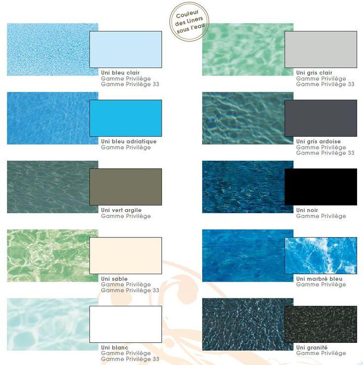 Les 25 meilleures id es de la cat gorie couleur liner piscine sur pinterest le lagon bleu 2 - Liner noir pour piscine ...