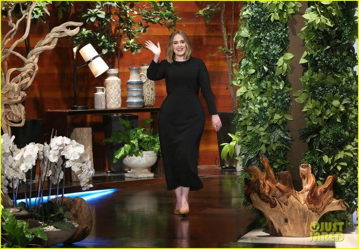Adele & Ellen DeGeneres Prank Jamba Juice Employees - Watch Now! | adele ellen show talks grammys audio 01 - Photo