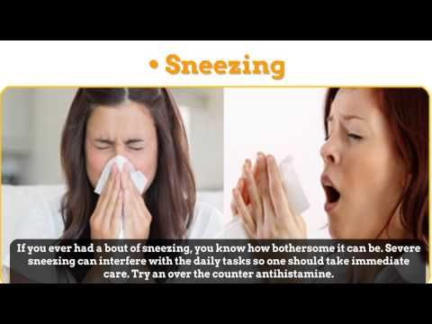 Sinus Pressure: Sinus pressures are painful and can affect your forehead, eyelids and cheeks. Try applying a moist cloth over it. Log on http://delreysinus.com/